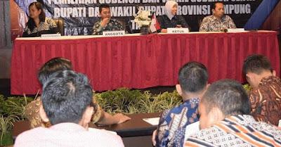 Bawaslu Lampung Gelar Rakor Penanganan Pelanggaran Pilkada Serentak 2018