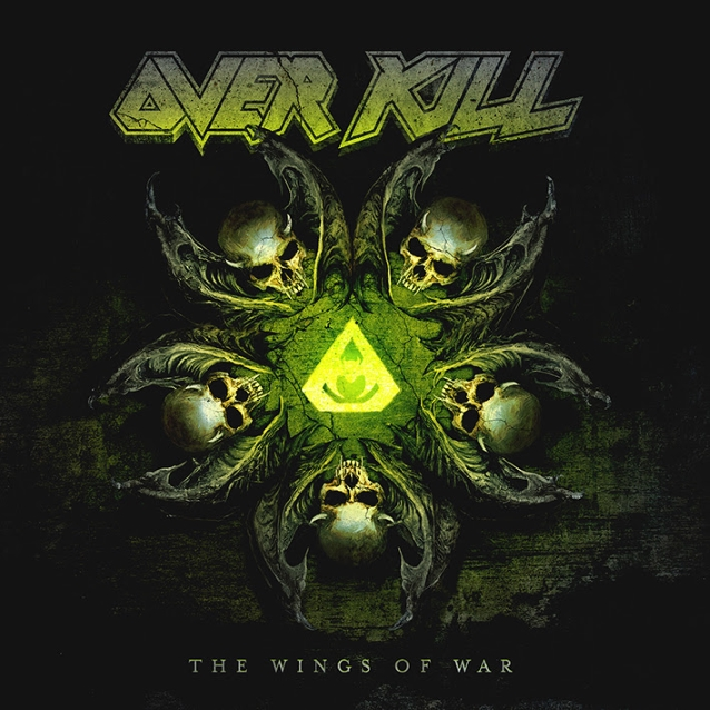 "nuevo disco de overkill, ""The Wings Of War"""