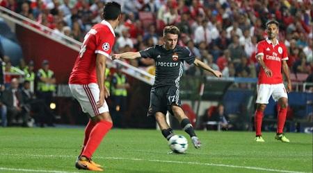 Assistir CSKA Moscou x Benfica ao vivo grátis em HD 22/11/2017