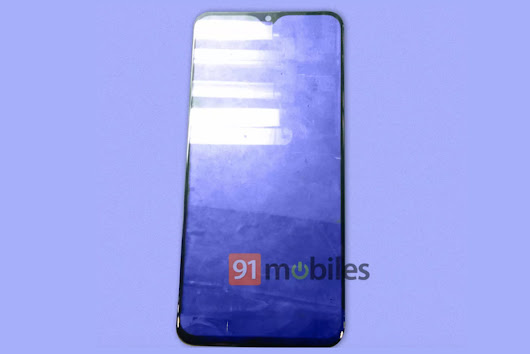 Samsung Galaxy M20 Front Panel with 'waterdrop' Notch Design Spotted Online