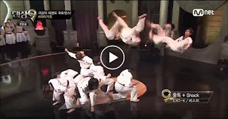 Amazing Dancing Taekwondokas, K-Tigers - Video hd