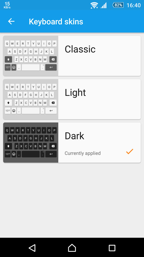 Xperia Keyboard 7.1.A.0.28