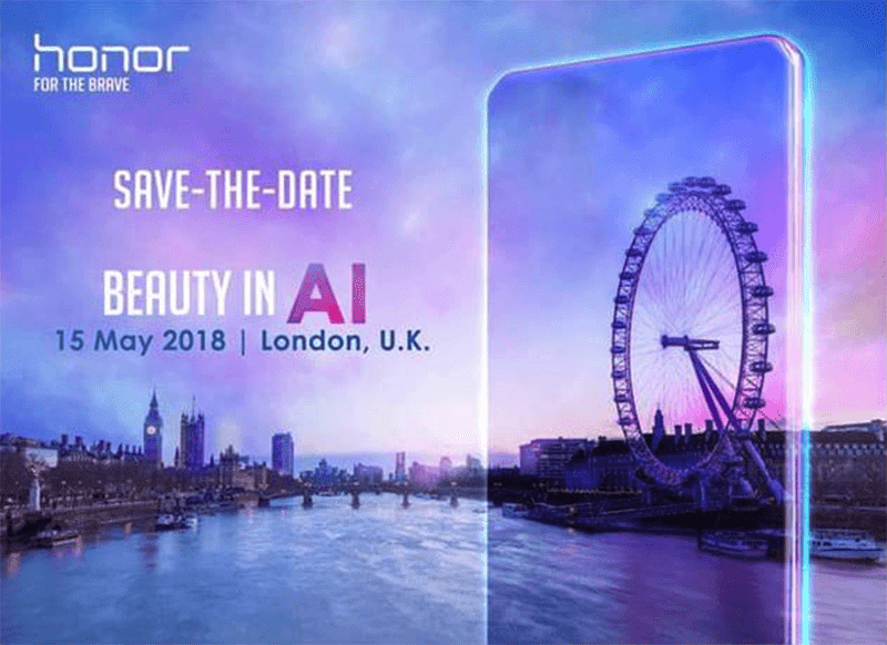 Huawei to launch the Honor 10 in London on May 15?