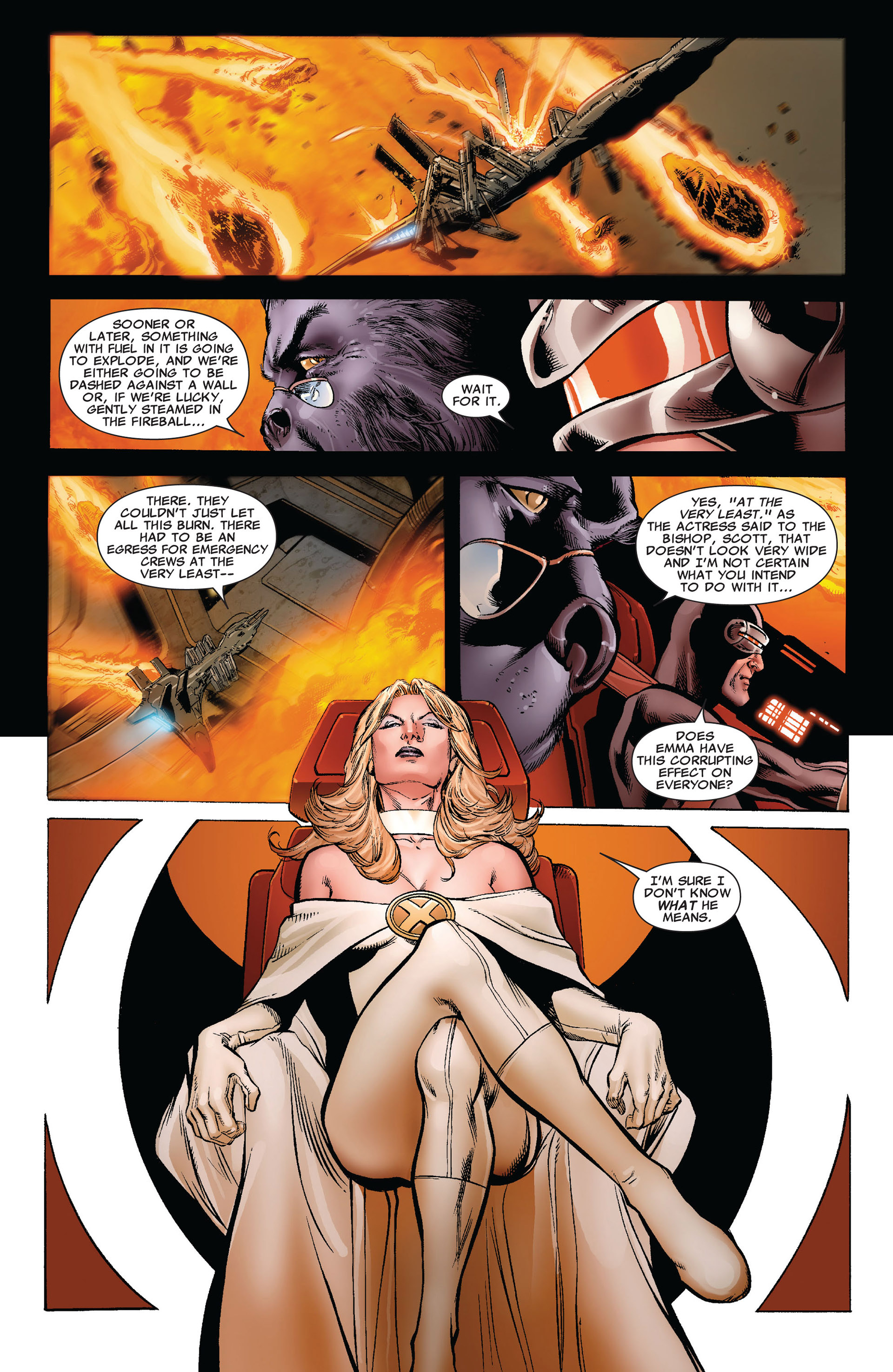 Read online Astonishing X-Men (2004) comic -  Issue #35 - 6
