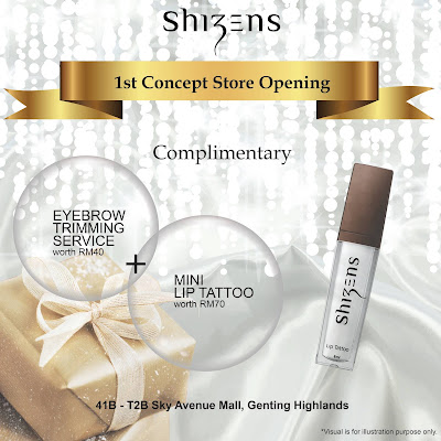 Shizens Concept Store Malaysia Free Goodies Giveaway
