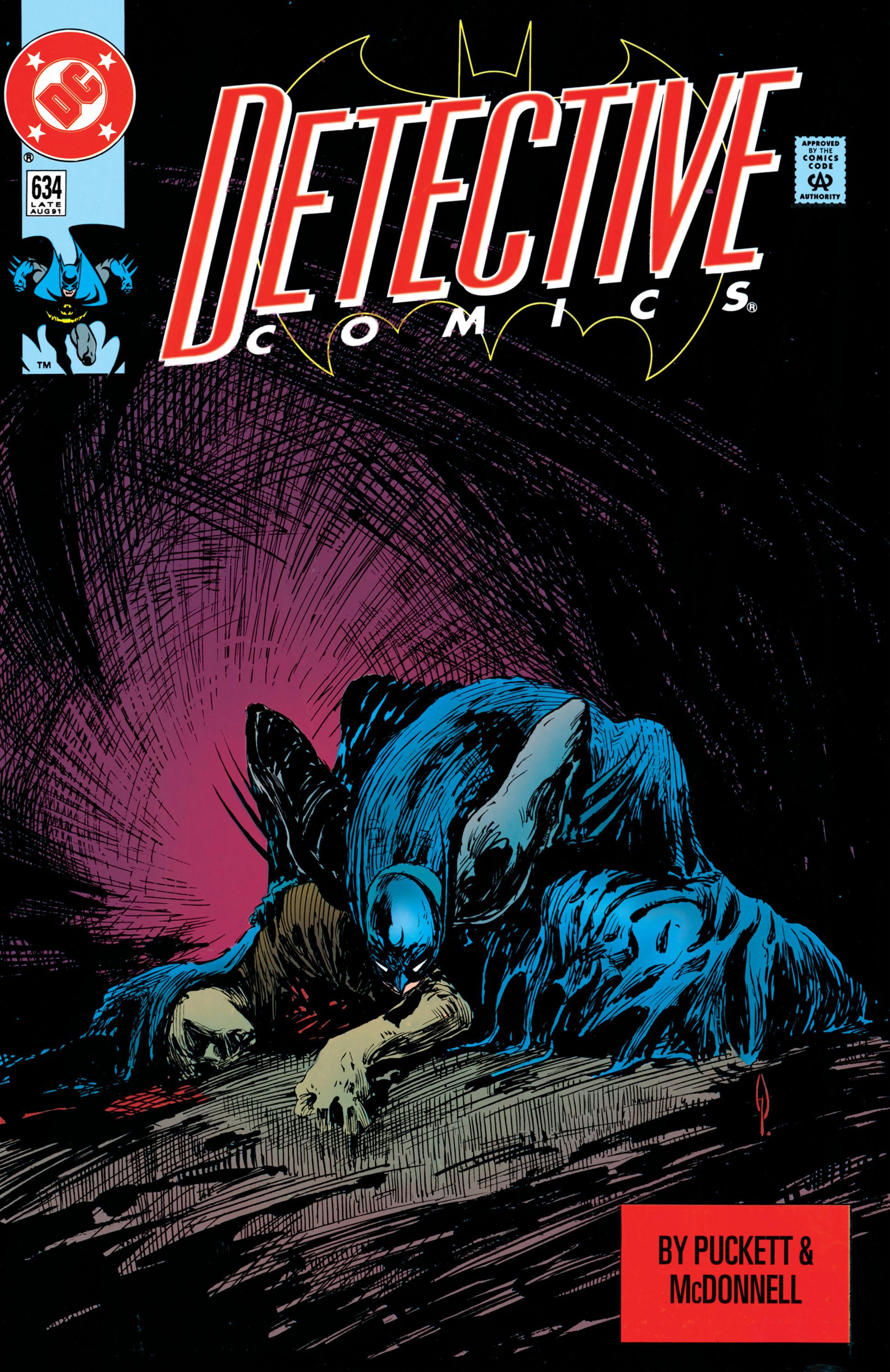 Detective Comics (1937) 634 Page 0