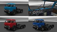 ETS2 Caminhão - Maz 504B e 515B Para V.1.28.X By: Fox071Rus