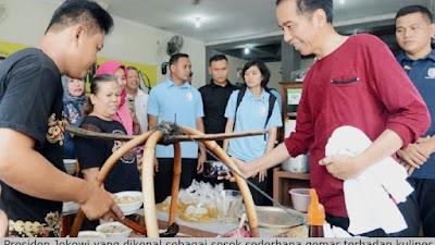 Kuliner Daerah Jadi Kegemaran Jokowi diselah Kunker