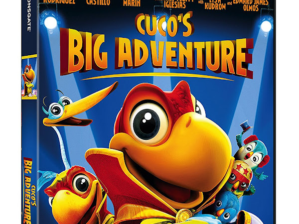 Giveaway - Cuco's Big Adventure DVD