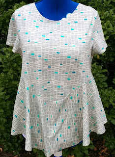 Creates Sew Slow: Janis Sandbar top - front