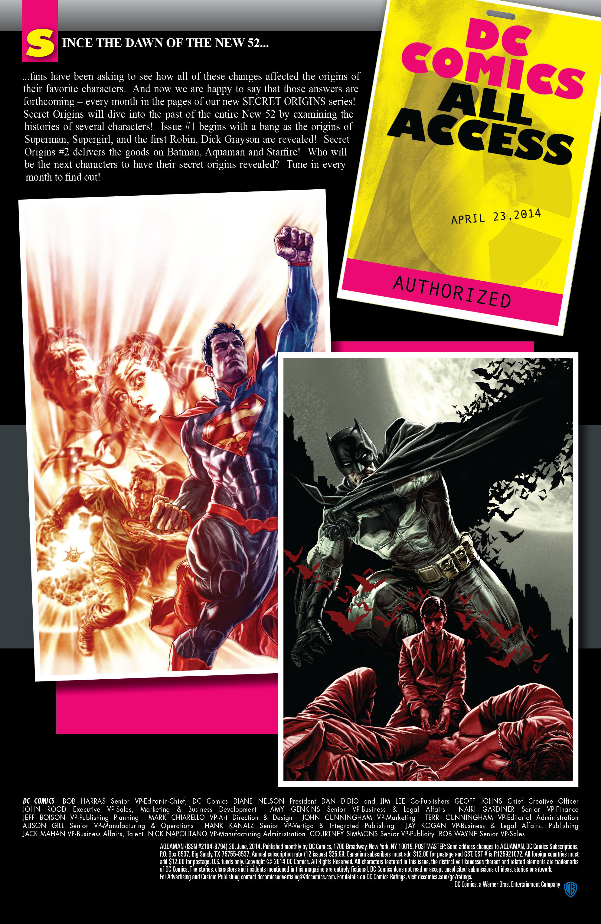 Read online Aquaman (2011) comic -  Issue #30 - 23