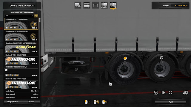 ets 2 real trailer tyres mod v1.2 screenshots 1, Continental HTL2 385/65