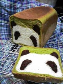 Haciendo pan con forma de osito Panda. Tutorial.