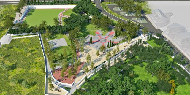 Vão nascer mais dois hectares para lazer e desporto informal no Parque Municipal de Loulé