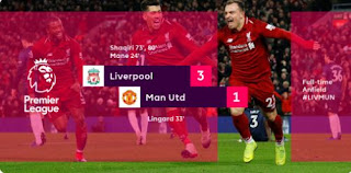 Liverpool vs Manchester United 3-1 Full Highlights