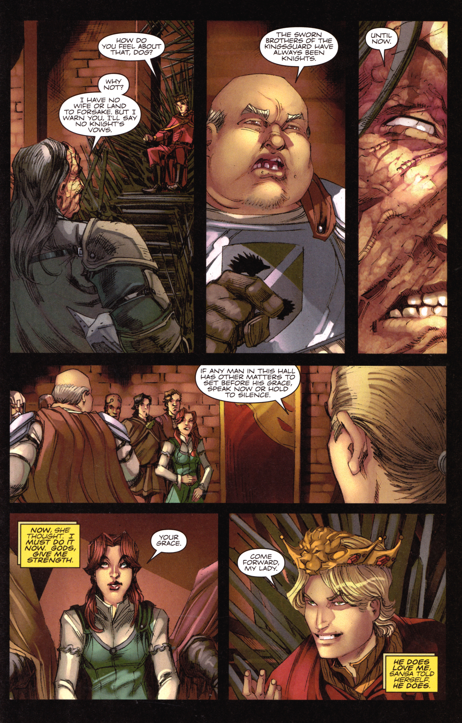 Read online A Game Of Thrones comic -  Issue #18 - 21