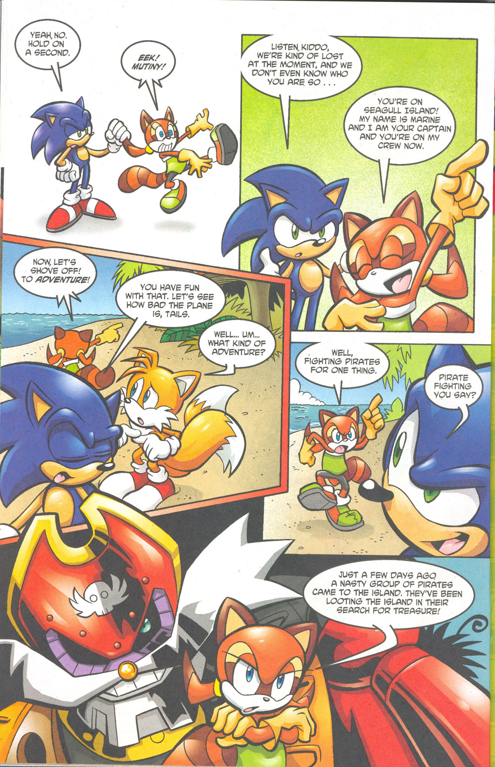 Read online Sonic The Hedgehog comic -  Issue #180 - 21