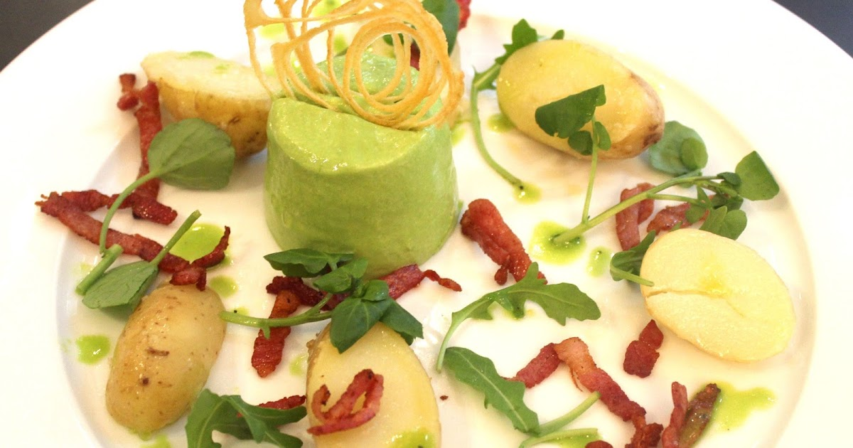 new river dining pea bavarois and mint sauce the perfect summer starter. Black Bedroom Furniture Sets. Home Design Ideas