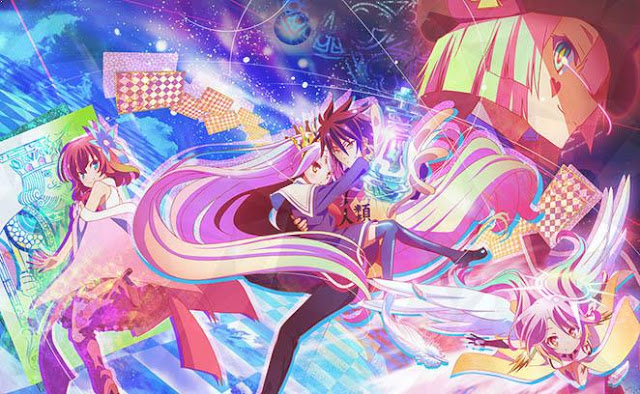 No Game No Life - Anime Mirip Classroom of The Elite