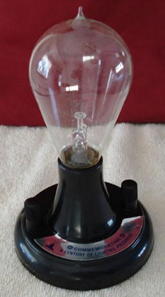 Thomas Edison Light Bulb Picture
