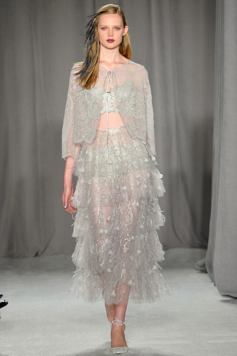 Marchesa Spring 2014 Runway Review - theFashionSpot   Marchesa Spring 2014