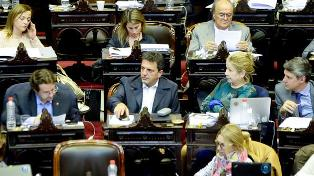 Sergio Massa, líder de la bancada del Frente Renovador en Diputados (NA)