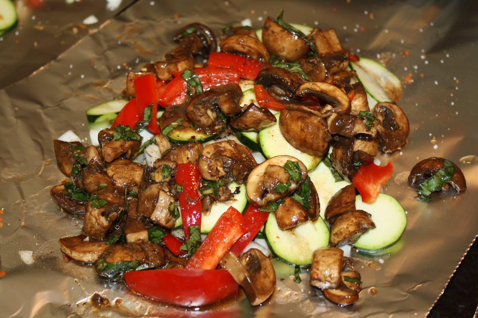 Vegetarian Or Not Tin Foil Dinners