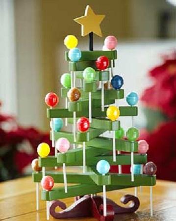 10 ideas para hacer rboles de navidad for Cosas para hacer de navidad faciles