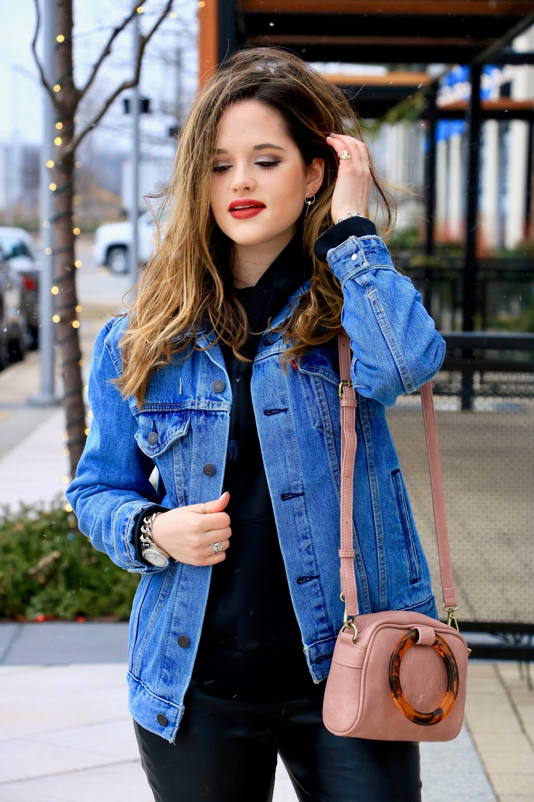 Nyc fashion blogger Kathleen Harper's winter layers outfit