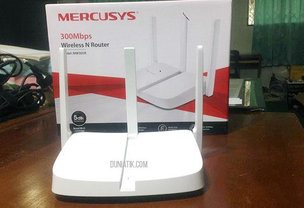 Cara Setting Wifi Mercusys MW305R