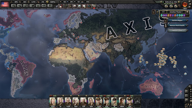 Hearts of Iron IV, My Atomic Crimes axis map