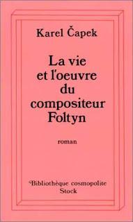 La vie et l'œuvre du compositeur Foltyn - Karel Čapek