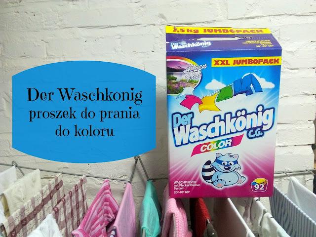 RECENZJA: Proszek do prania Waschkonig Color | EUROCHEMIA