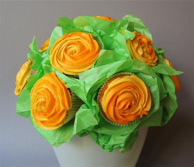 Cupcake-Blumenstrauß 3