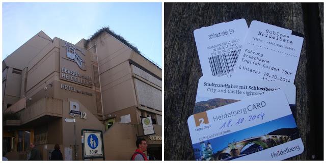 funicular e tickets em Heidelberg