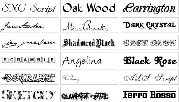 Diseño De Letras Para Logos
