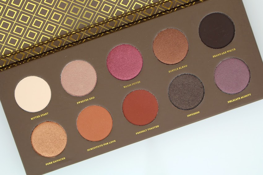 Swap blog beauté palette Cocoa Blend Zoeva