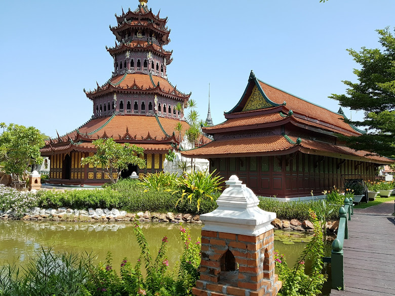 古城園區內的 The Phra Kaew Pavilion
