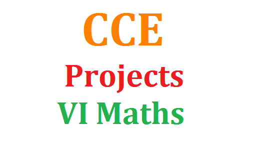 CCE Model Projects and Proforma for VI Class Download Here | Continuous Comprehensive Evaluation CCE Model Projects Proforma Information Download here | Detailed information of the Project Data Collection Proforma Preliminary Information Download | Chapter wise Suggestive Projects Assignments for 6th Class Download here | Lesson wise Projects Download vi-class-maths-model-projects-and-proforma-assignments-download