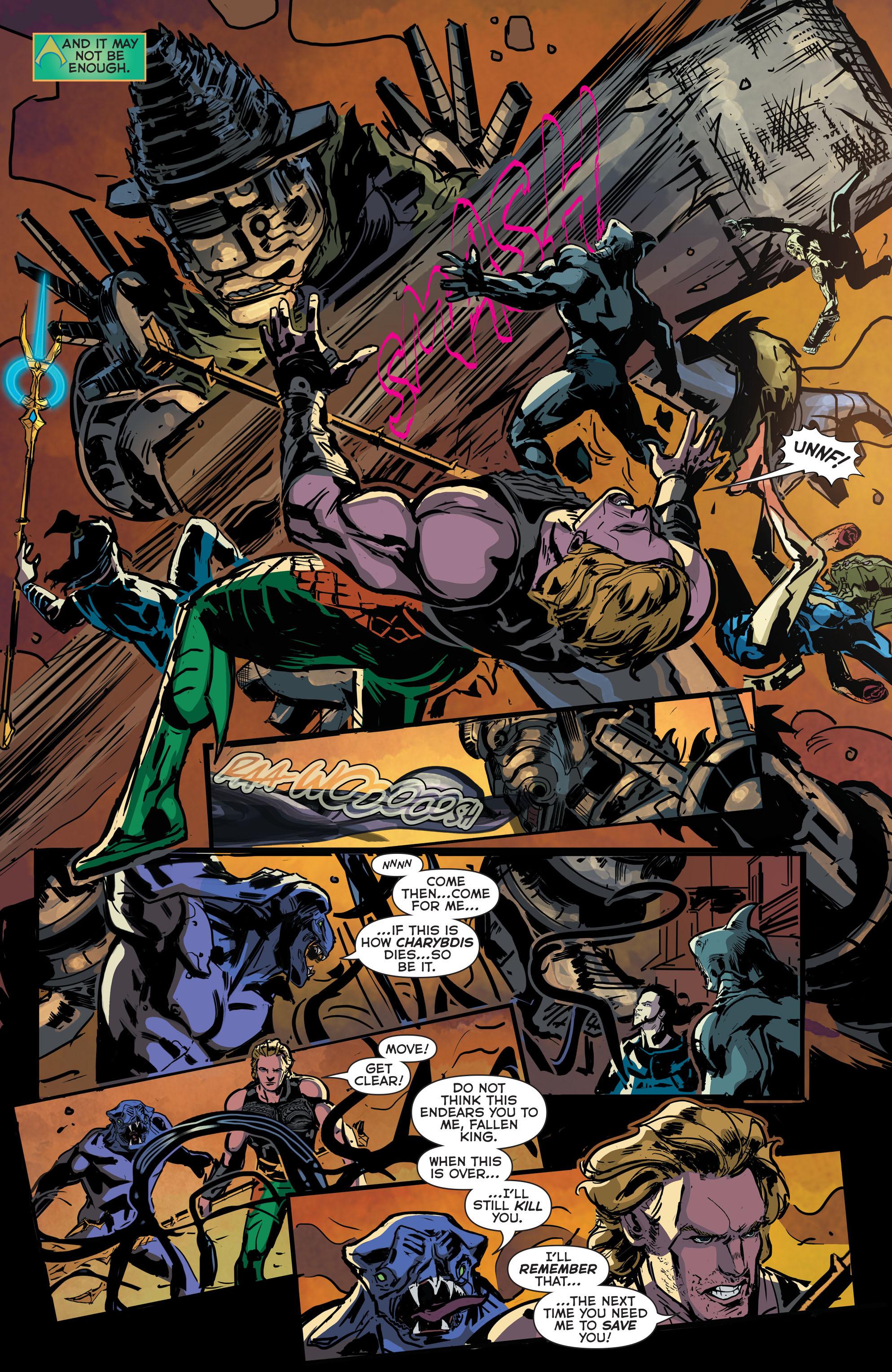 Read online Aquaman (2011) comic -  Issue #43 - 12