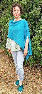 Creates Sew Slow: Janis Sandbar top & Blot wrap