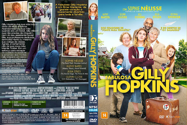 Capa DVD A Fabulosa Gilly Hopkins [Custom]