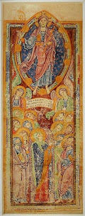 Iconography of the Ascension, Part II of IV -- Jesus Lifted in a Mandorla or on a Cloud