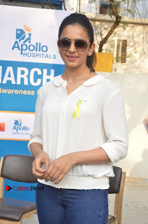Actress Rakul Preet Singh at Endometriosis Awareness Walk at Apollo Cradle  0029.jpg
