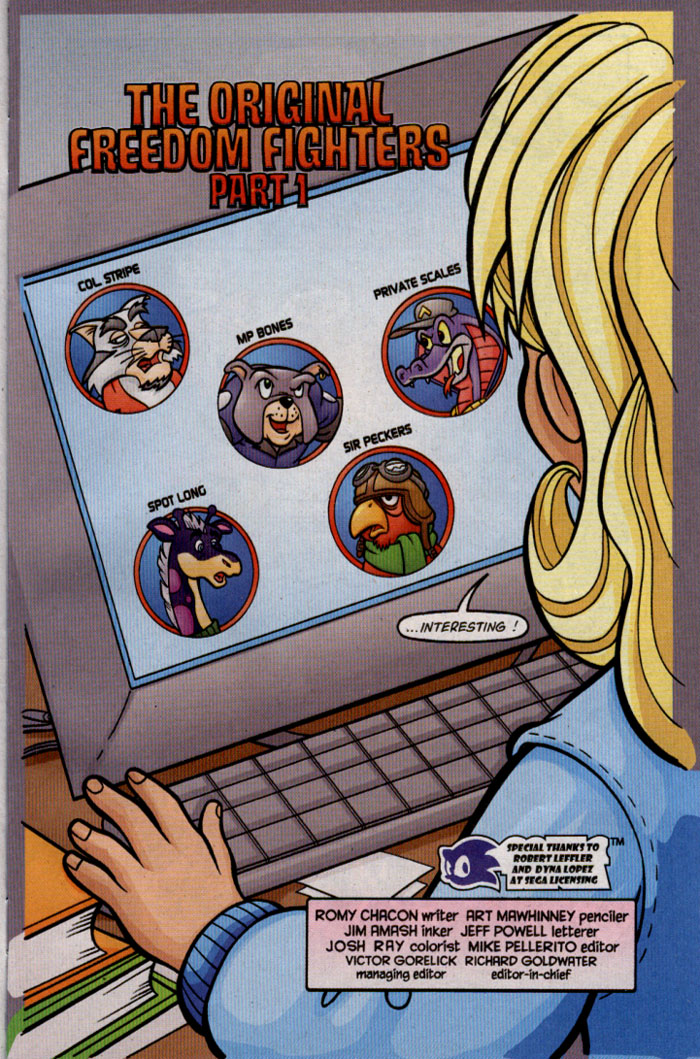 Read online Sonic The Hedgehog comic -  Issue #142 - 4
