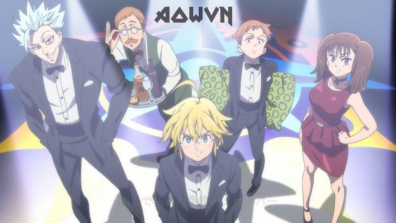 Nanatsu%2Bno%2Btaizai%2B %2BAowVN%2B%25283%2529 - [ Anime 3gp Mp4 ] Nanatsu No Taizai SS2 | Vietsub - Siêu Phẩm Trở Lại