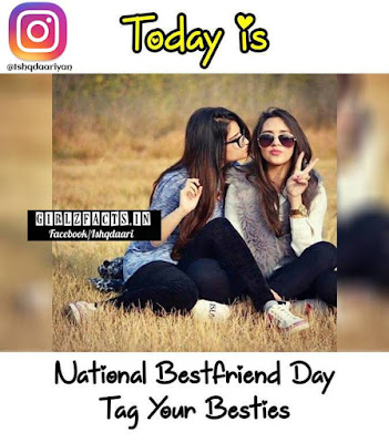 Today is National Bestfriend Day  Tag your Besties