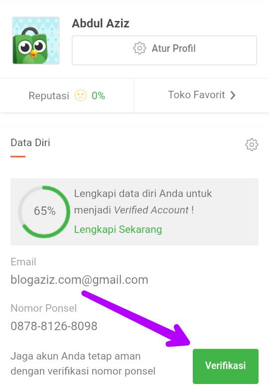 Cara Daftar Tokopedia Menggunakan Email