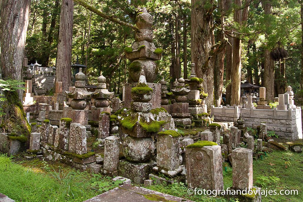 Okunoin cementerio de Koyasan