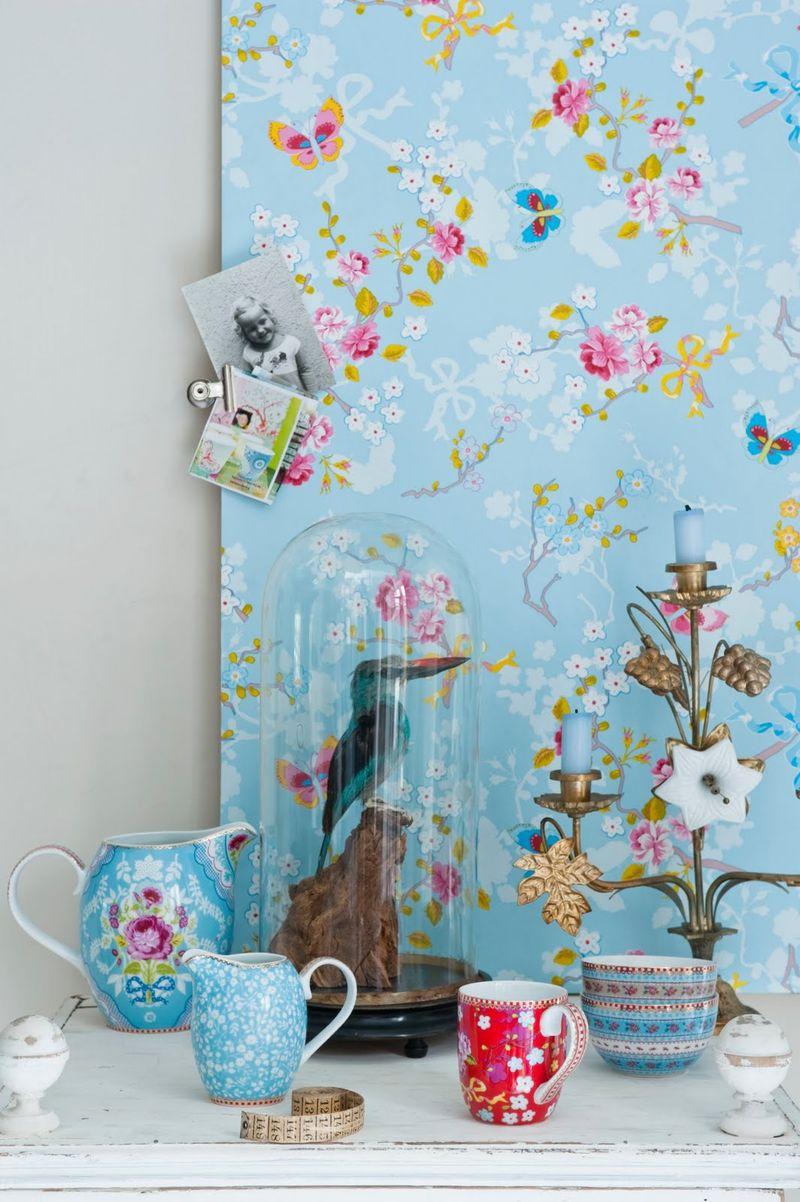 home and garden papiers peints pip studio vs catalina estrada. Black Bedroom Furniture Sets. Home Design Ideas